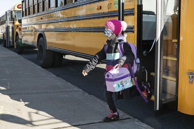 Retour à l'école: «Je suis full contente!»
