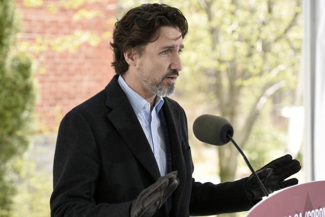 Crédit d'urgence aux grandes entreprises: pas un «chèque en blanc», dit Trudeau