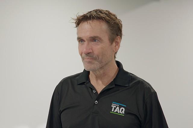 Gabriel Tremblay, directeur général de Groupe TAQ...