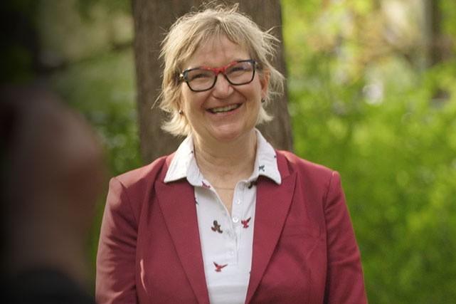 Chantal Beauvais, rectrice de l'Université Saint-Paul...