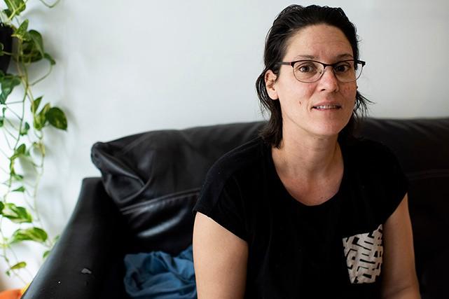 Le 24 décembre, Éliza Tremblay vivra son premier réveillon avec ses enfants... (ELAINE LOUW GRAHAM)