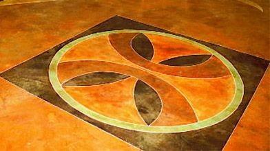 Les motifs géométriques, comme sur ce parquet de...