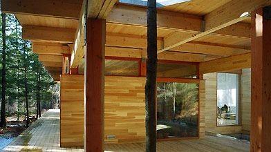 L'architecte Pierre Thibault a voulu jouer d'ambiguïté entre...
