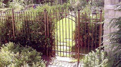 Durable, la clôture de fer ornemental coûte au...