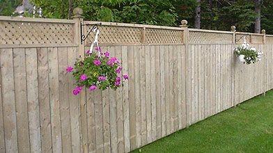 La cl ture donne des murs au jardin gilles angers cour et jardin - Cloture jardin angers ...