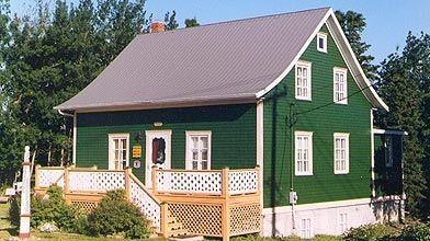 La Maison Horace-Bouffard est une traditionnelle maison paysanne...