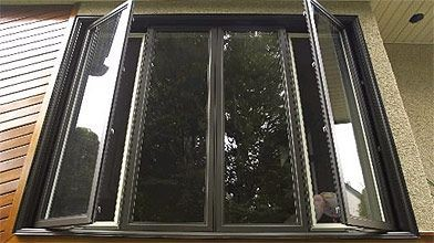 Les fenêtres de la série Energium, de GIT,...