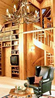 L'idée principale est d'intégrer les livres au décor....