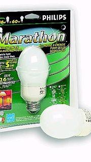 Une ampoule moins énergivore fabriquée par Phillips....