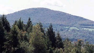 Le mont Sutton dans les Cantons-de-l'Est...