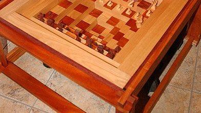 Table d'échecs en trois dimensions...