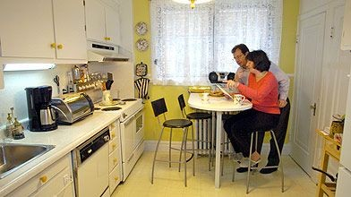 Jane Renaud et Michel Eric rendront leur cuisine...