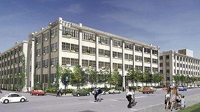 La conversion des bâtiments vacants d'Imperial Tobacco, dans...