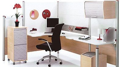 Le coin bureau pas si simple am nager mich le - Bureau ordinateur en coin ...