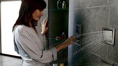 Les douches de plus en plus high tech danielle bonneau - Douche high tech ...