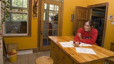 Nathalie Malo songe à agrandir sa maison pour...