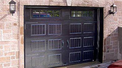 Les portes de garages de type champêtre sont...