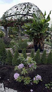 Une vue partielle du jardin «Urban Romance» du...