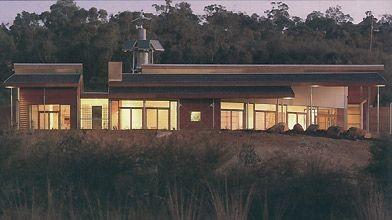 Maison australienne de l'avenir telle qu'imaginée par Kimberly...