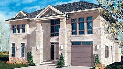Conçue par l'architecte Yvan Deschênes, la maison se...