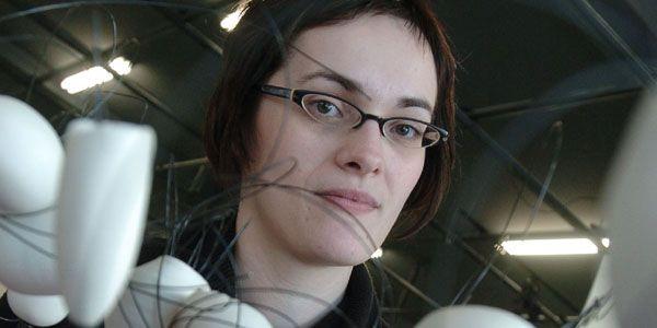 L'artiste-céramiste Kathy Ouellette... (Photo Le Soleil)
