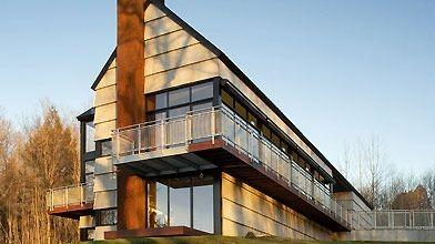 Les architectes de l'Atelier YH2 ont innové en...