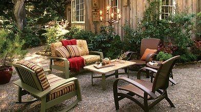 Une fois la belle saison terminée, ces meubles...