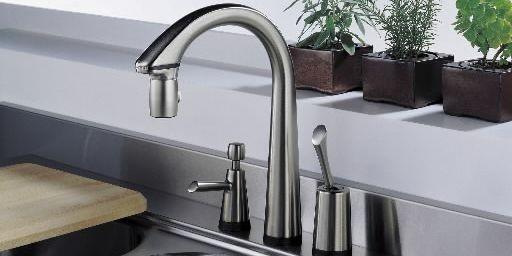 Un robinet mains libres permet d'économiser de l'eau.... (Photo fournie par Brizo)