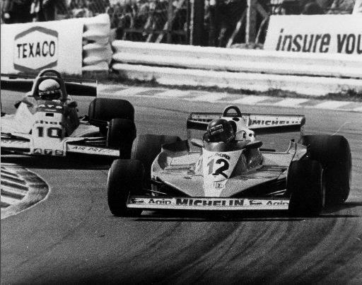 Gilles Villeneuve au volant de sa Ferrari au Grand Prix du Canada de 1978. | 1 mars 2011