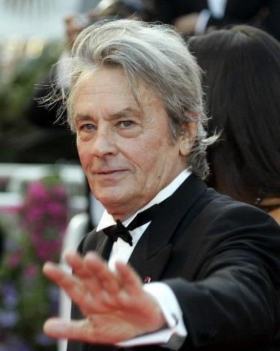 L'acteur français Alain Delon... (Photo AP)