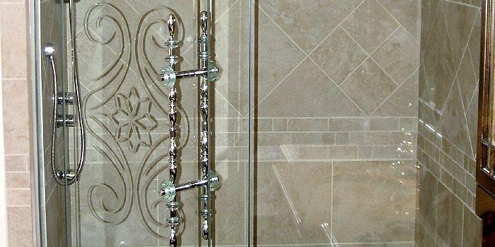 Détail d'une douche signée Alain Aubry.... (Photo fournie par Alain Aubry)