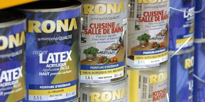 Rona, qui collecte déjà le tiers de ce... (Photo Jocelyn Bernier, Le Soleil)