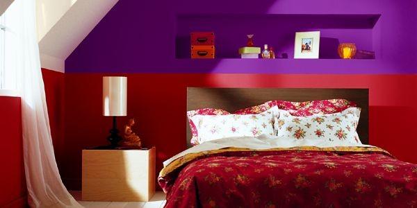 Sur un long mur de chambre à coucher,... (Phototèque Le Soleil)