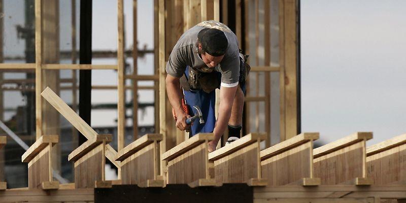 La construction résidentielle a progressé de 13 pour... (Photothèque Le Soleil)