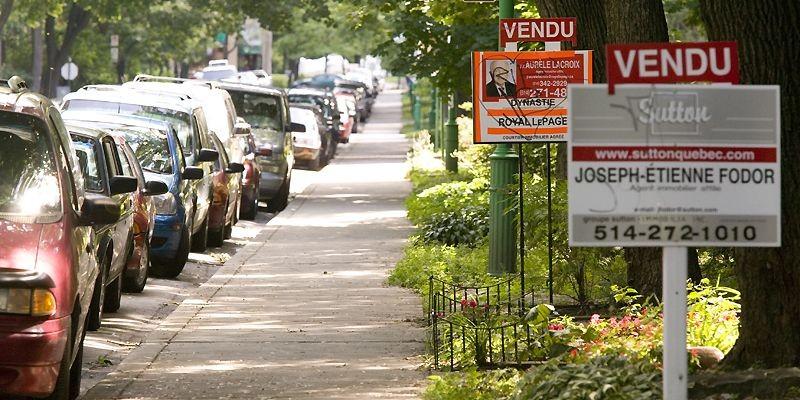Les prix des maisons dans six des plus... (Photo David Boily, archives La Presse)