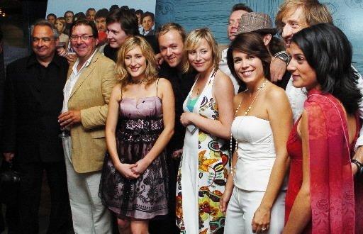 Cocktail de lancement du FFM avec les vedettes de «Bluff», le film d\'ouverture. | 27 juillet 2012