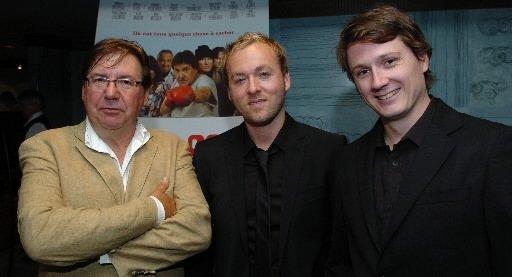 Rémi Girard, Marc-André Lavoie et Simon Olivier Fecteau. | 27 juillet 2012