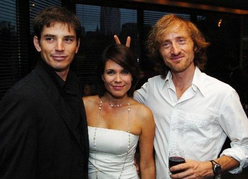 Sébastien Delorme, Julie Perreault et Emmanuel Bilodeau. | 27 juillet 2012