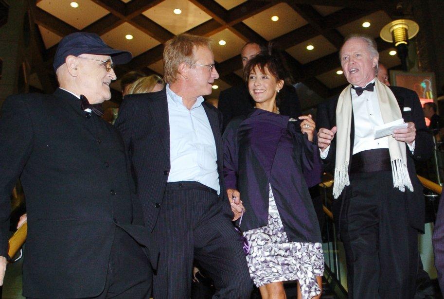 Serge Losique, Christophe Lambert, Sophie Marceau et Jon Voight.... | 2012-07-27 00:00:00.000