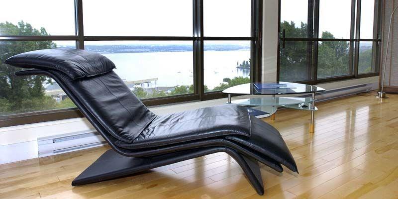 Le salon offre une vue imprenable sur le... (Photo Érick Labbé, Le Soleil)