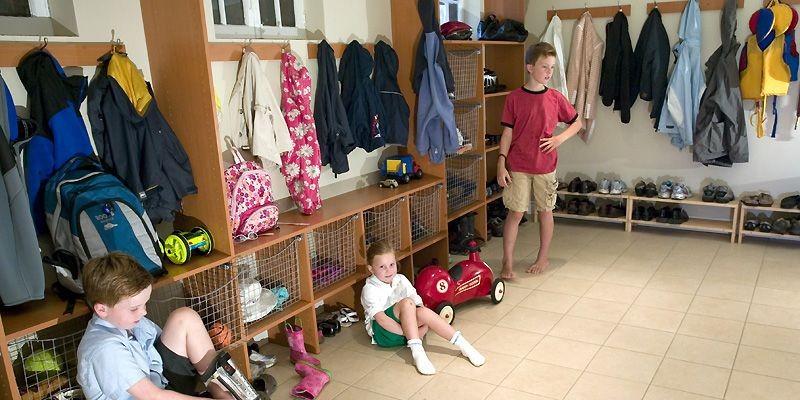 Drew, Grace et Cameron Anderson retrouvent facilement sac... (Photo David Boily, La Presse)