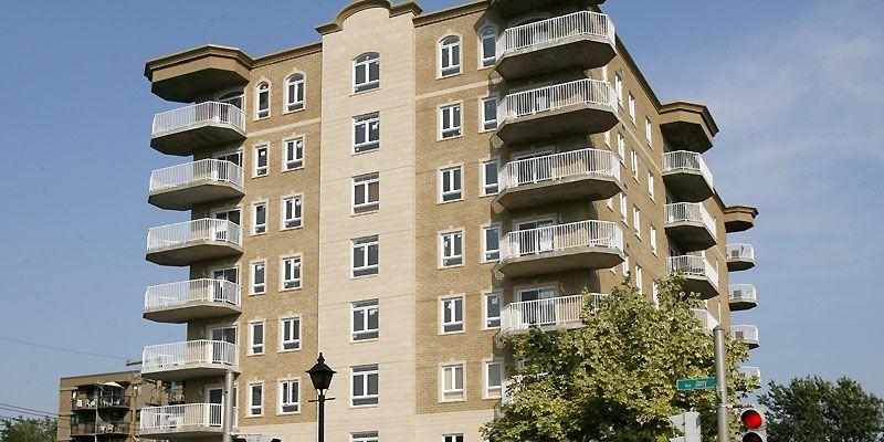 48 appartements en copropriété. (Photo Robert Mailloux, La Presse)