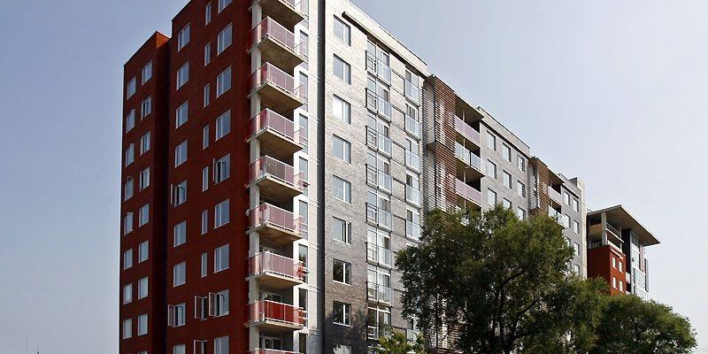 153 appartements en copropriété. (Photo Robert Mailloux, La Presse)