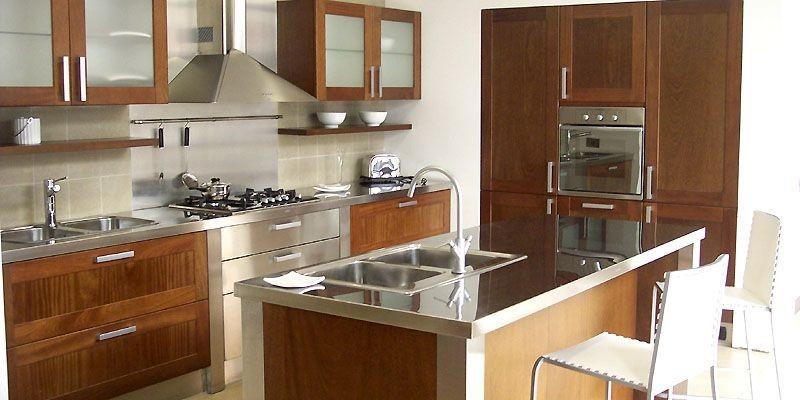 Une cuisine de Johnson en inox durable, plus... (Photo fournie par Fellini Designs)