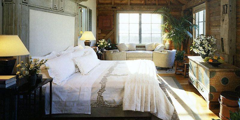 La chambre à coucher de Steven Spielberg et... (Photo tirée du livre <i>Intérieurs new-yorkais</i>)