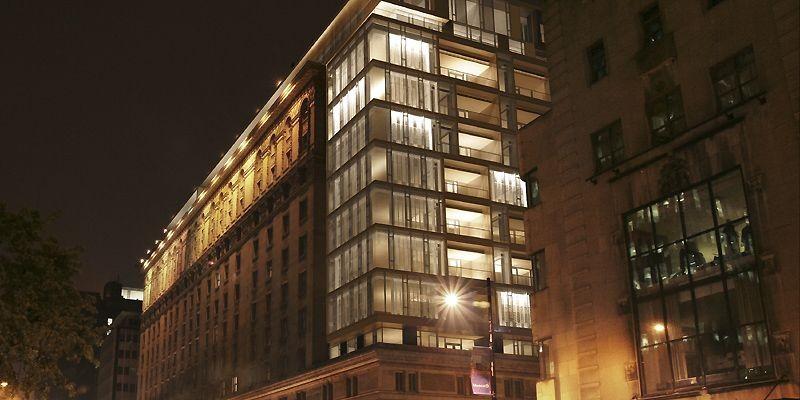 Les résidences sur deux niveaux seront bâties sur... (Photo fournie par le Ritz-Carlton Montréal)