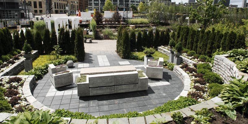 Un des jardins de l'exposition Flora que l'on... (Photo Martin Chamberland, La Presse)
