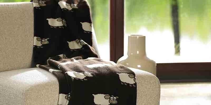 Un imprimé rigolo en microfibre: des moutons.... (Photo fournie par la Maison Simons)