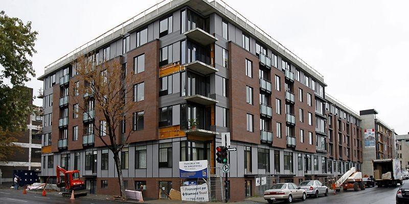 Le Square Cartier comprendra 400 appartements au total.... (Photo Robert Mailloux, La Presse)