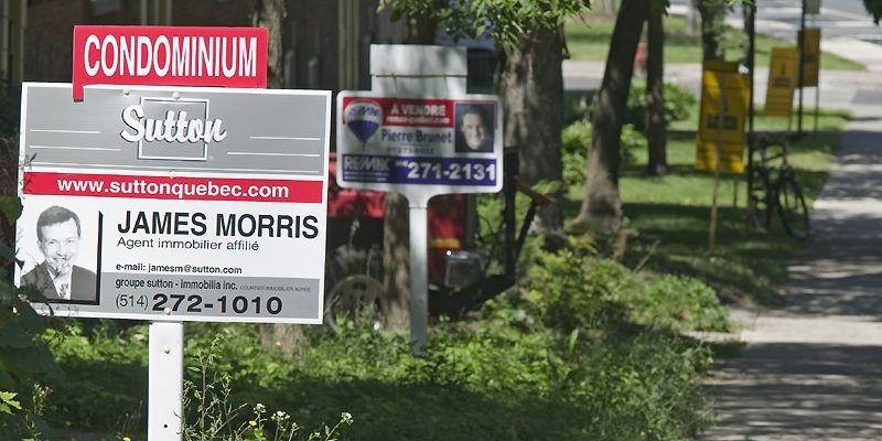 Le marché immobilier fait preuve d'une vigueur... (Photo archives La Presse)